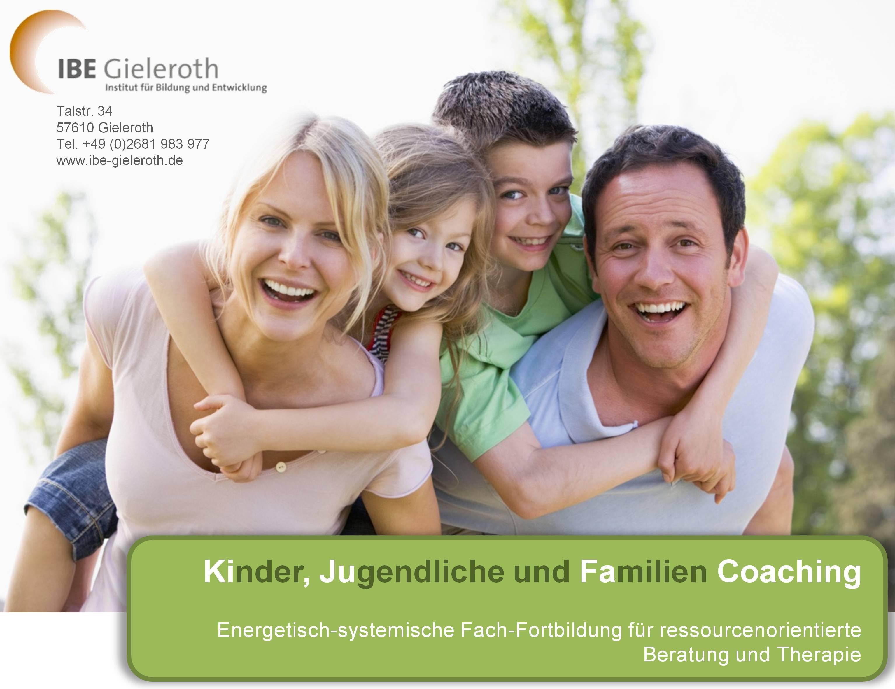 Energetisch-systemische Fach-Fortbildung: Kinder, Jugendliche und Familien Coaching