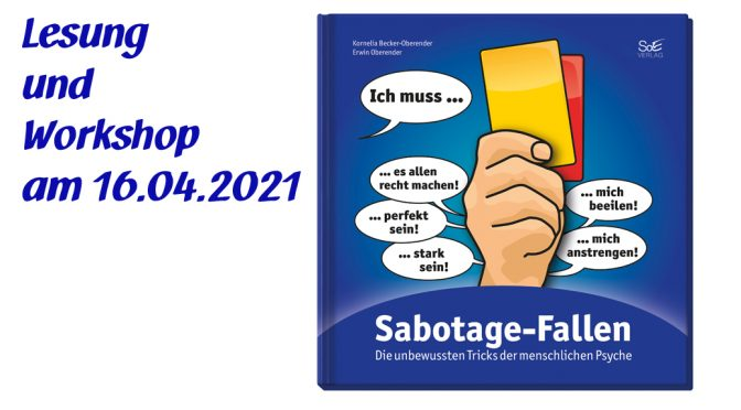 Lesung und Workshop Sabotage-Fallen